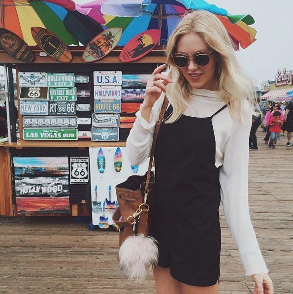 她的故事是這樣開始的... 一個20幾歲的小姑娘, 經營著自己的時尚博客Peace Love Shea, 並逐漸受到人們的關注