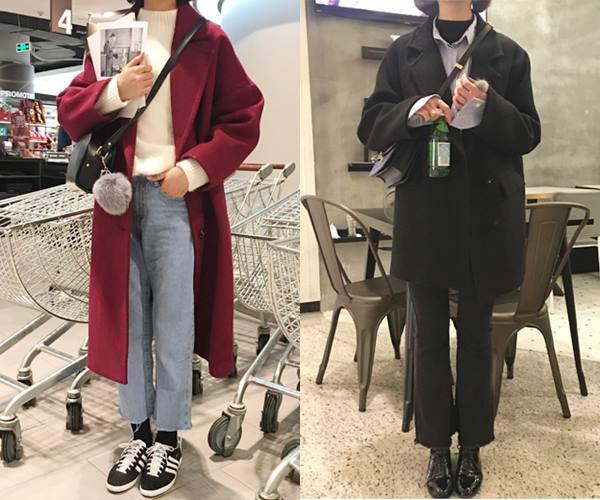 整家店的風格走韓系路線,有帥氣的商品,也有比較少女系列的單品。