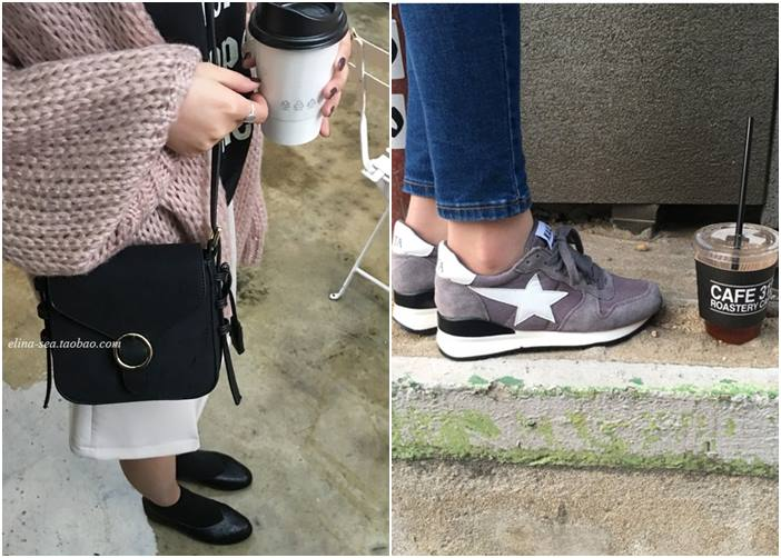 除了衣服類的之外,像是包包和鞋子等配件也有喔~不過包包和鞋子摩登少女沒有買過,所以不清楚評價就是了XDD
