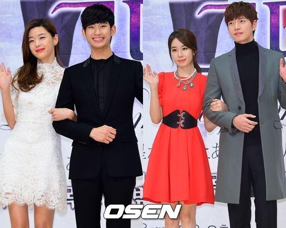 ♥第6名[來自星星的你] 這部的有名程度連韓國媒體都說「有沒看過這部的人嗎?」(笑)雖然這部有些部分有點狗血XD