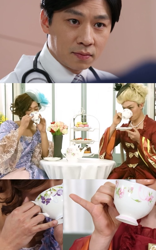 經過一連串丈夫的瘋狂行為後,妻子帶南宮珉去看醫生,殊不知醫生也體驗到女性衣服的美好,兩人就一起扮女裝了(大笑)