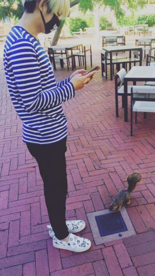 貓臉男孩和松鼠的相遇。(fear. 希澈)