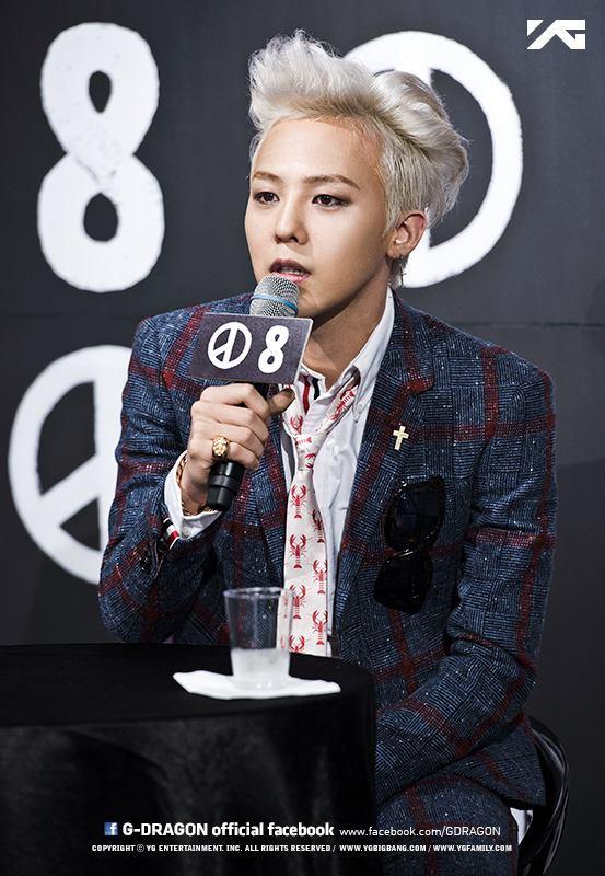 ✿ BIGBANG G-Dragon  G-DRAGON 的本名是「權志龍」,而 G-DRAGON 其實也就是「志龍」的意思,這應該是大家都知道的吧XD