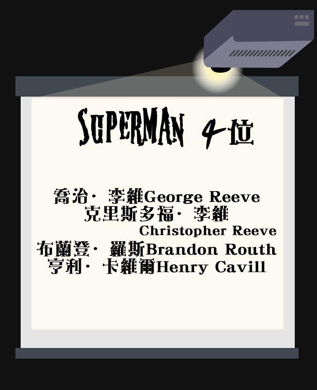 亨利卡維爾是在接演四部超人電影的克里斯多福李維後,評價最好的超人演員。這次的蝙蝠俠隊超人也由他續演!