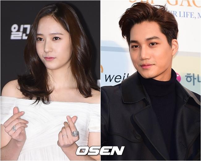 今年的愚人節,KAI和Krystal被韓國最有名的狗仔媒體曝出約會照!兩人戀情就此曝光,SM隨後也承認消息屬實。
