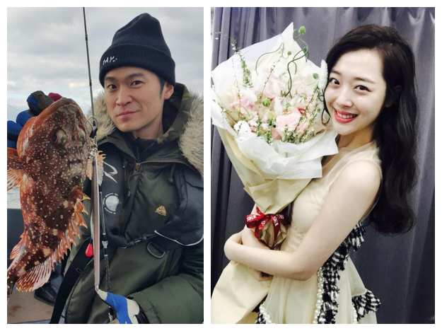 去年8月19日,SM娛樂表示「雪莉和崔子是互相支援的關係」,間接承認了兩人的戀情。 其實雪莉和崔子第一次爆出緋聞是在2013年9月,當時有媒體拍到他們在首爾森林約會的照片,但雙方均否認,稱只是單純的朋友關係。