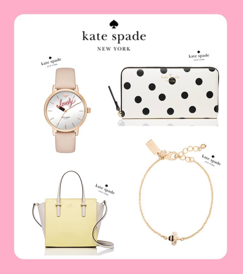 Kate Spade 一說到Kate Spade~摩登少女就會立刻想到撲克牌XDD因為撲克牌的黑桃就是Kate Spade的標記啊~~