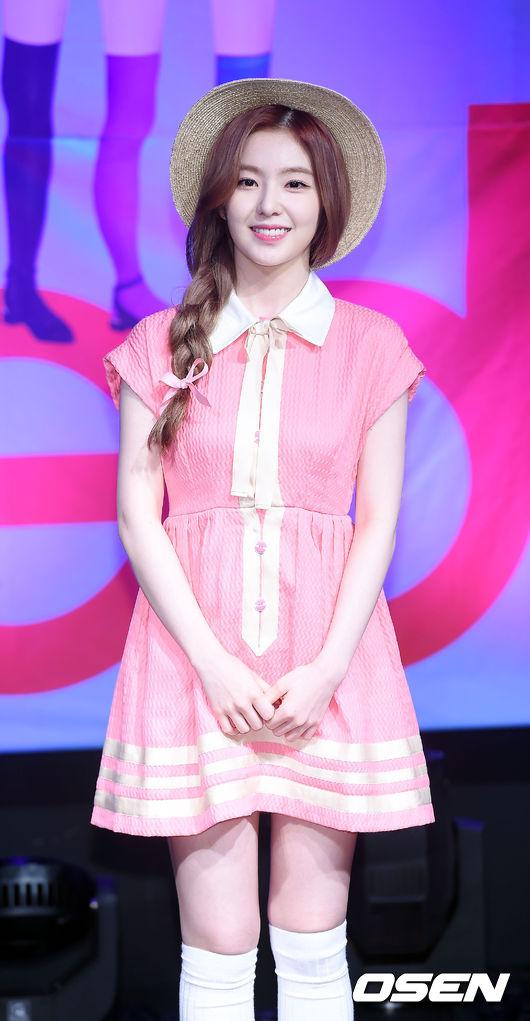 首先Irene具有媽媽們的必備course:[嘮叨+擔心]~ (feat. 媽媽的眼神)