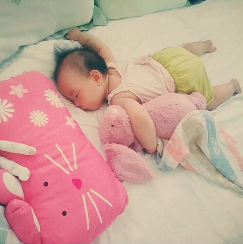 ❤ 小天使露熙睡著的模樣 ❤