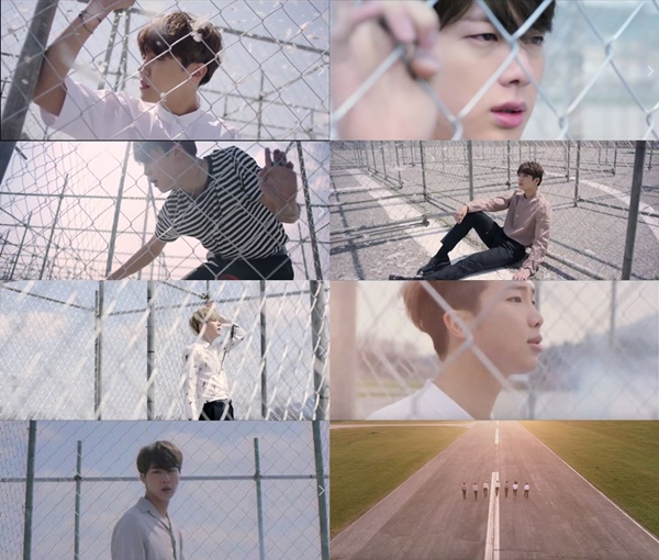 並且在20號的0點公開'EPILOGUE : Young Forever'的MV啦!灑花
