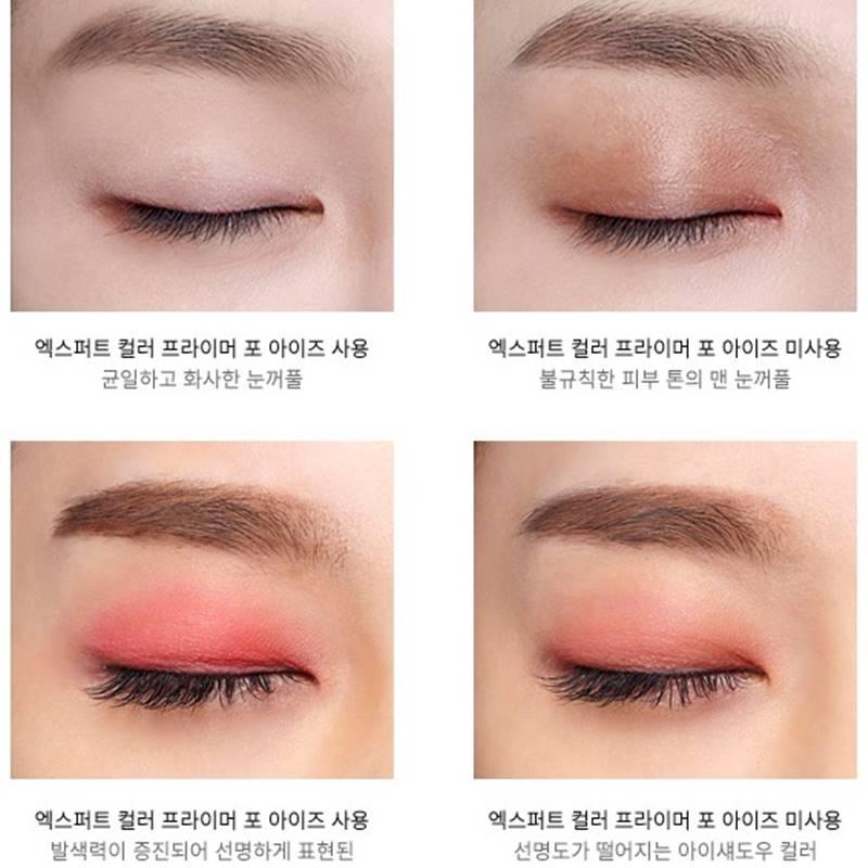 可以避免眼影、眼線暈開之外,偽少女個人覺得可以讓你的眼影更顯色喔!
