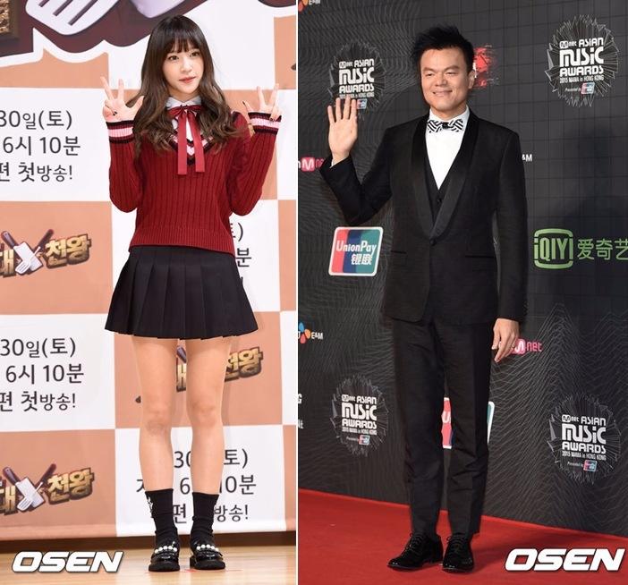 然而兩人一開始的重逢看起來相當尷尬,Hani的眼神感覺無法和JYP對視,講話也似乎很小心…(因版權關係,節目畫面不便放上)