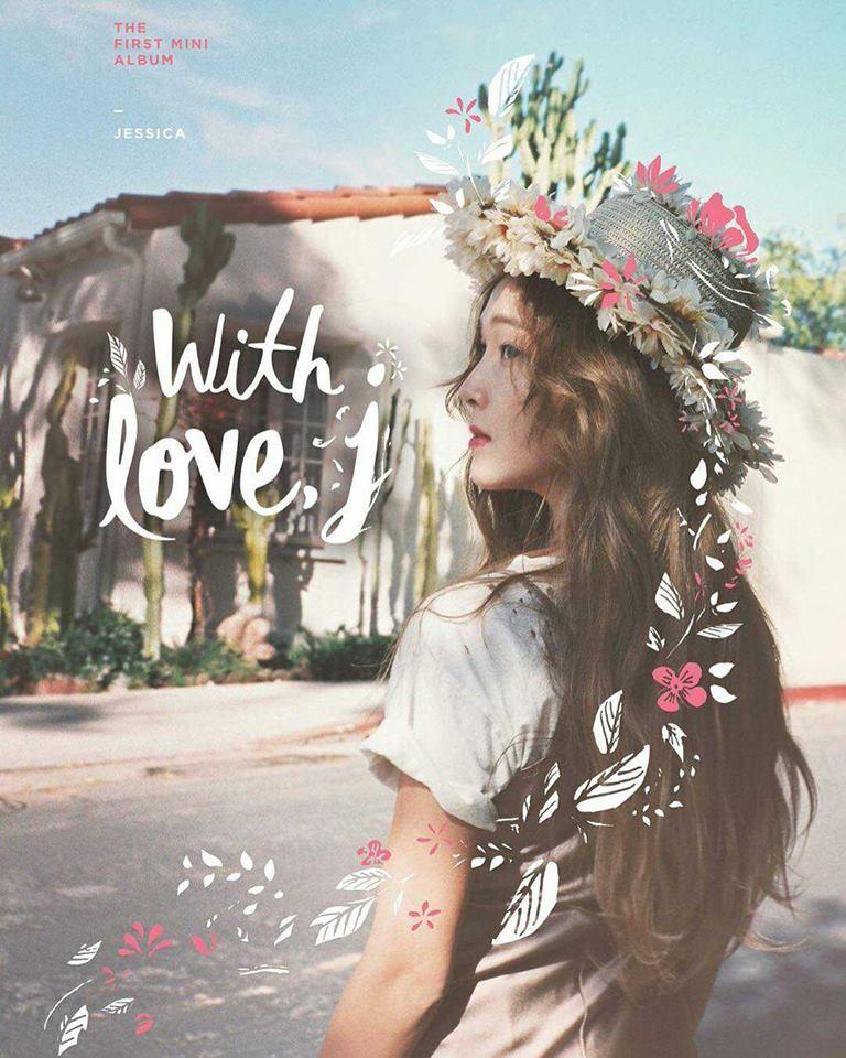 少女時代的前成員 JESSICA 退團後,在今年發行首張個人的 SOLO 專輯《With Love, J》。