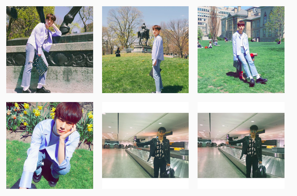 ◆ KEY 有自己的攝影團隊 feat.泰民  之前有看過一個後記說,KEY 抵達某一個地方後,馬上請身邊的工作人員幫他拍照,有時候也會請泰民幫他攝影,大家不覺得 KEY 的攝影團隊都超厲害的嗎?XD