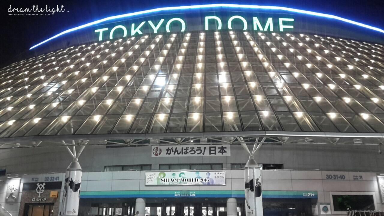 好啦~其實標題都說出答案了 ><!!  沒錯沒錯!我這次是跟屁蟲,跟著朋友一起去日本看演唱會,而且還是很多韓星的夢想舞台「東京巨蛋」(尖叫)