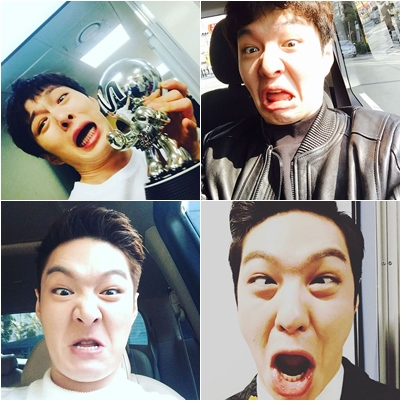 BTOB - 昌燮 打開昌燮 的instagram小編都快笑死了XD這樣不會把粉絲都嚇跑嗎XDDD
