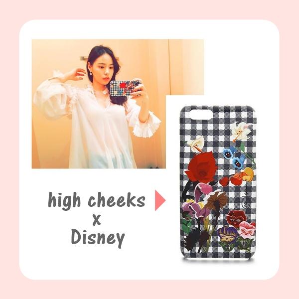 這個由韓國設計品牌high cheeks及愛麗絲聯名設計的款式不只孝敏和閔孝琳有,少女時代的Tiffany更是這系列的愛用者喔!