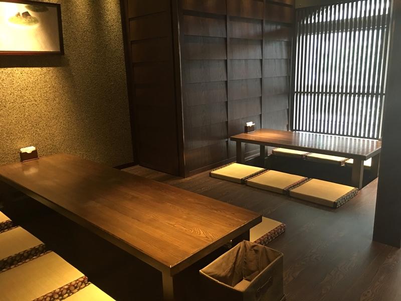最裡面為和室區,木桌和草蓆彷彿有在日本小店的感覺