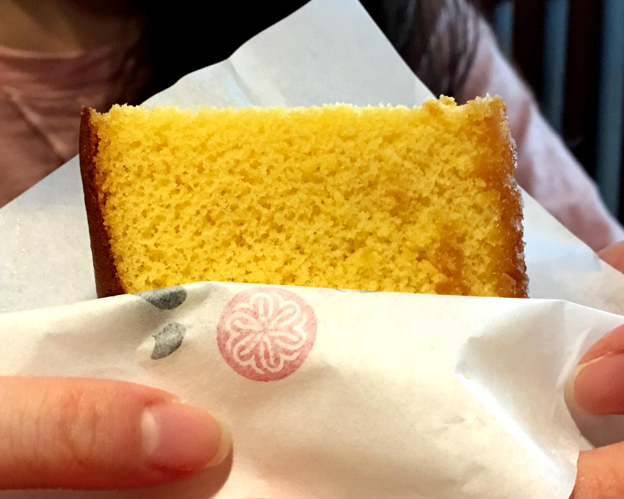 沒有添加油脂但吃起來不會乾,下面有粗糖粒多了一份口感