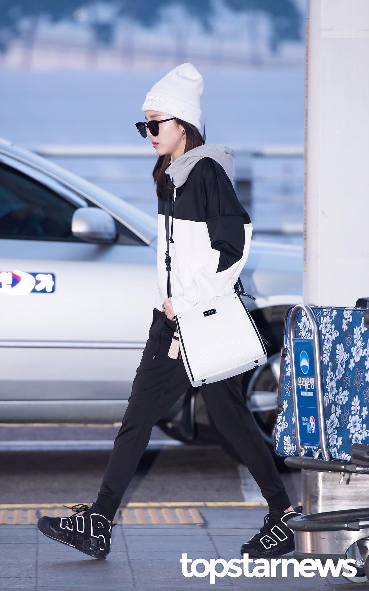 2NE1 - Dara 側面一看,這完全算是紙片人了吧