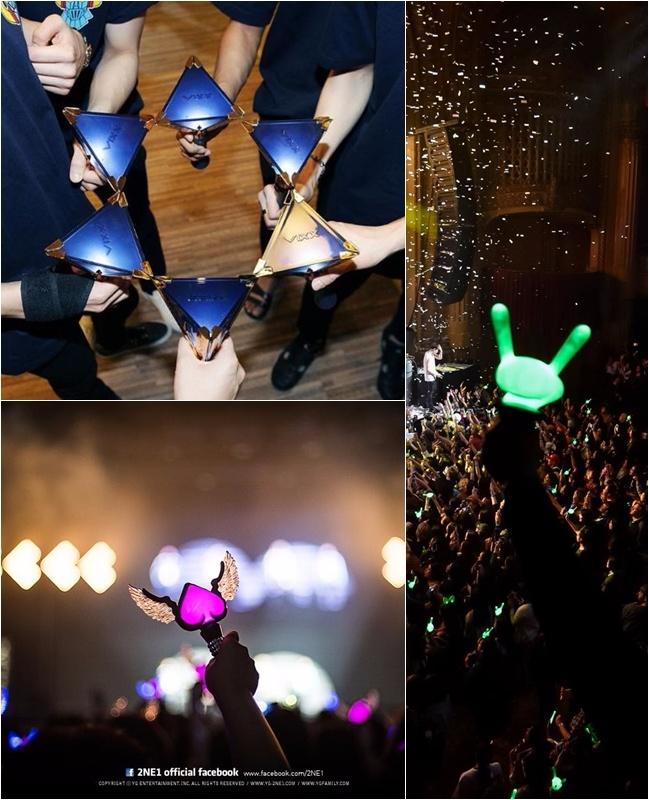 說好的…象徵 I.O.I的手燈呢?不只隔著螢幕遠遠的感受到 I.O.I粉絲的恨意