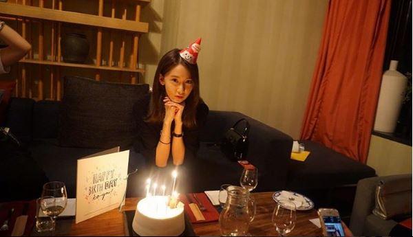 昨天度過27歲生日的潤娥,在自己的SNS上傳了並附上「Thanks for all the things」的文字♥