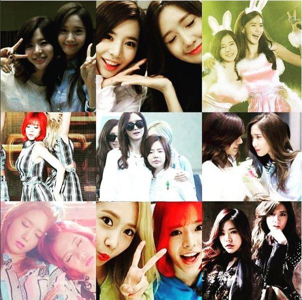 成員Sunny在自己的SNS寫下「親愛的妹妹潤娥生日快樂 女神大人 愛你呦♥」並上傳自己與潤娥的合照!