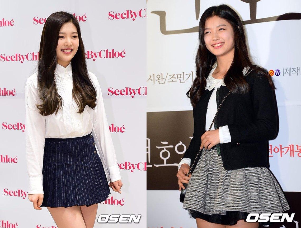 Red Velvet成員中,之前成員Joy和演員金裕貞這一組撞臉組合,在韓國論壇上非常有名!