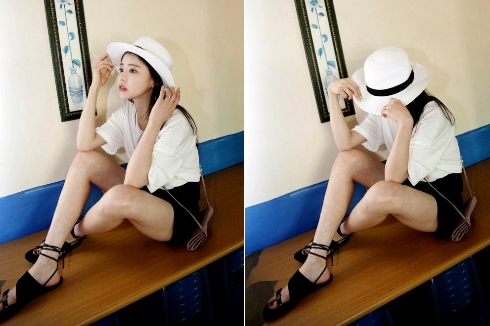 裙裝褲裝都百搭,還可以隨著綁帶的不同變換風格,腿長又瘦的女孩絕對要嘗試一下 !