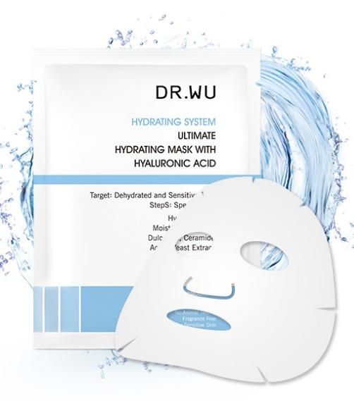♪ DR.WU玻尿酸保濕微導面膜  長效的保濕力,能更深入肌膚做補水與修護乾燥 ! 獨特的微導棉材質更能完美包覆肌膚 快和乾燥肌說拜拜吧~