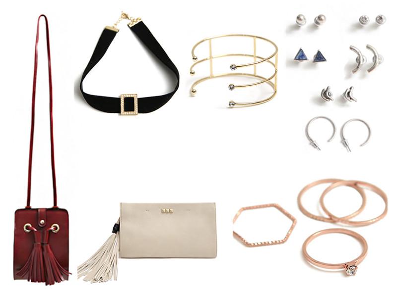 ◆飾品、包包 除了衣服之外,還有很多款式的飾品和包包,價格也都很公道。
