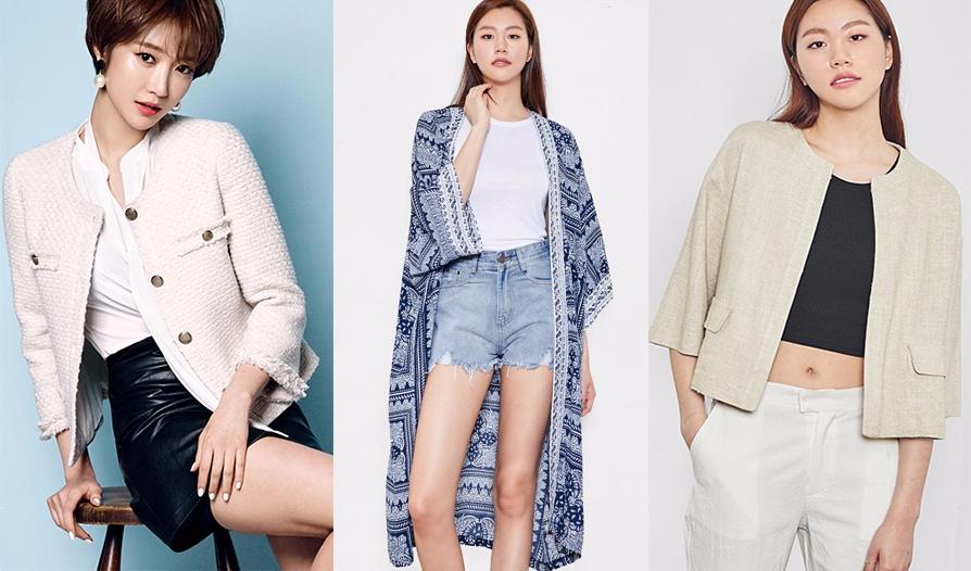 ◆外套 外套跟涼鞋的價錢差不多~~~有簡單大氣款,也有精緻的小女人款。