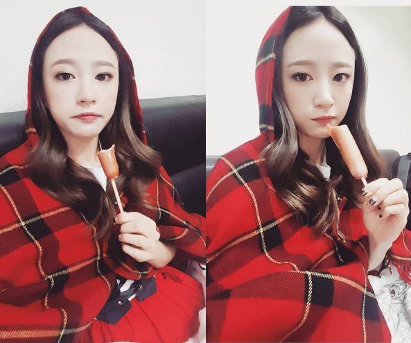 EXID - 哈妮 在節目上大吃跟大睡自在的樣子,完全拋開女偶像都是美美的的既定形象,難怪全韓國上上下下都愛她!