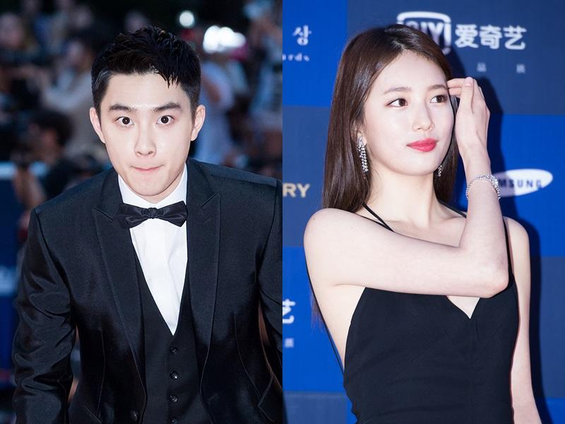 她和EXO的D.O.分別拿到了電影部門的人氣獎