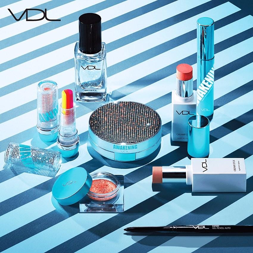 而最近,VDL又將在6/10推出最新系列 Summer Awakening Collection (夏季覺醒) 從粉底、眼影到唇膏都有