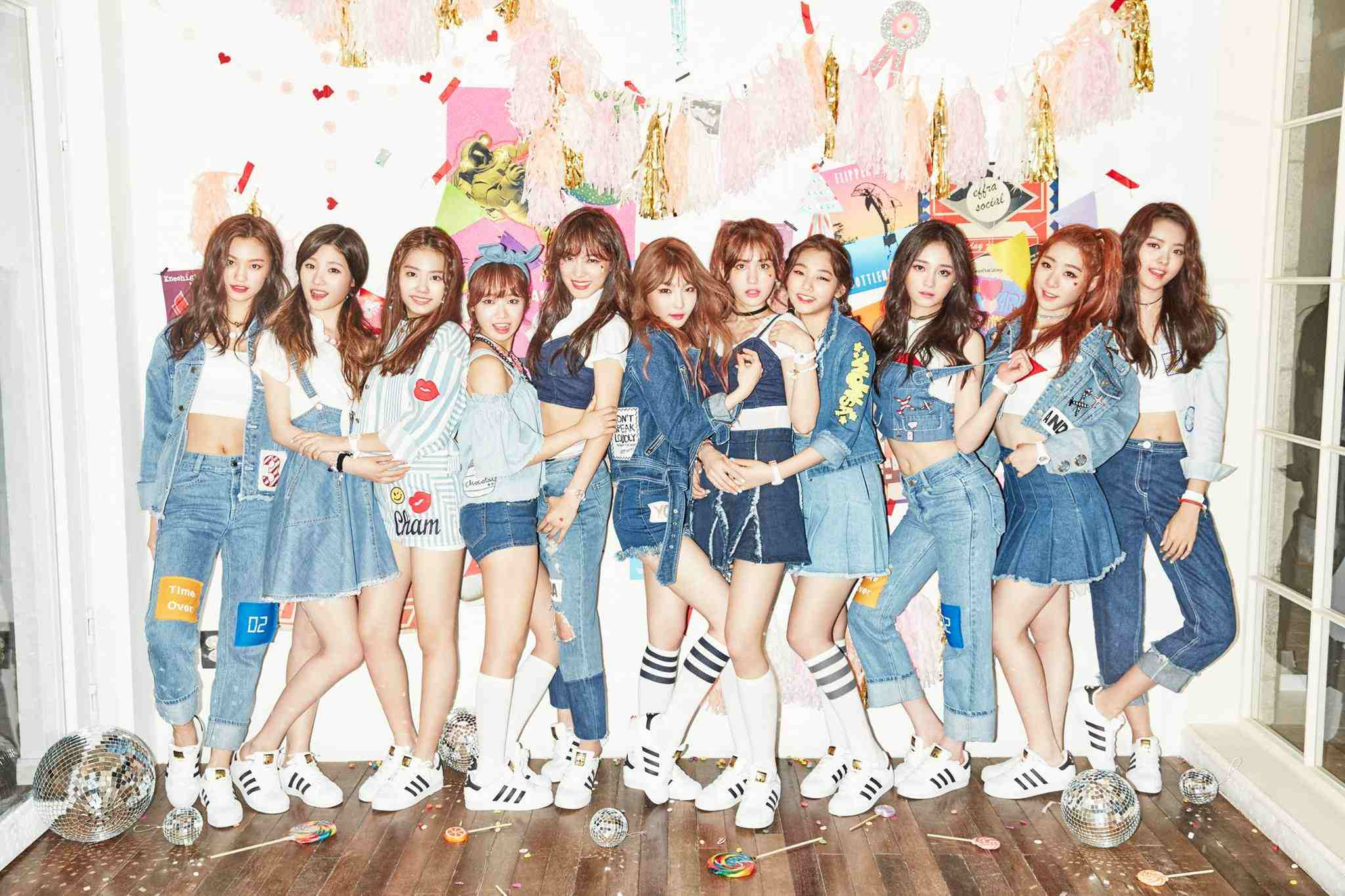 雖然I.O.I是僅活動一年的「限定女團」,但仍舊不影響她們的粉絲凝聚力,高人氣完全無法擋啊!