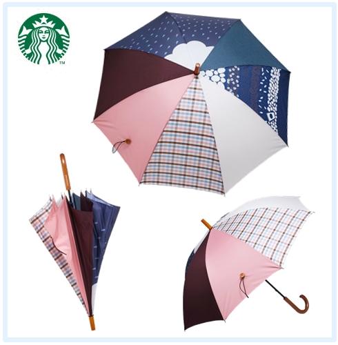 ♯夏日拼接風雨傘 拼接感的雨傘好少女文青唷