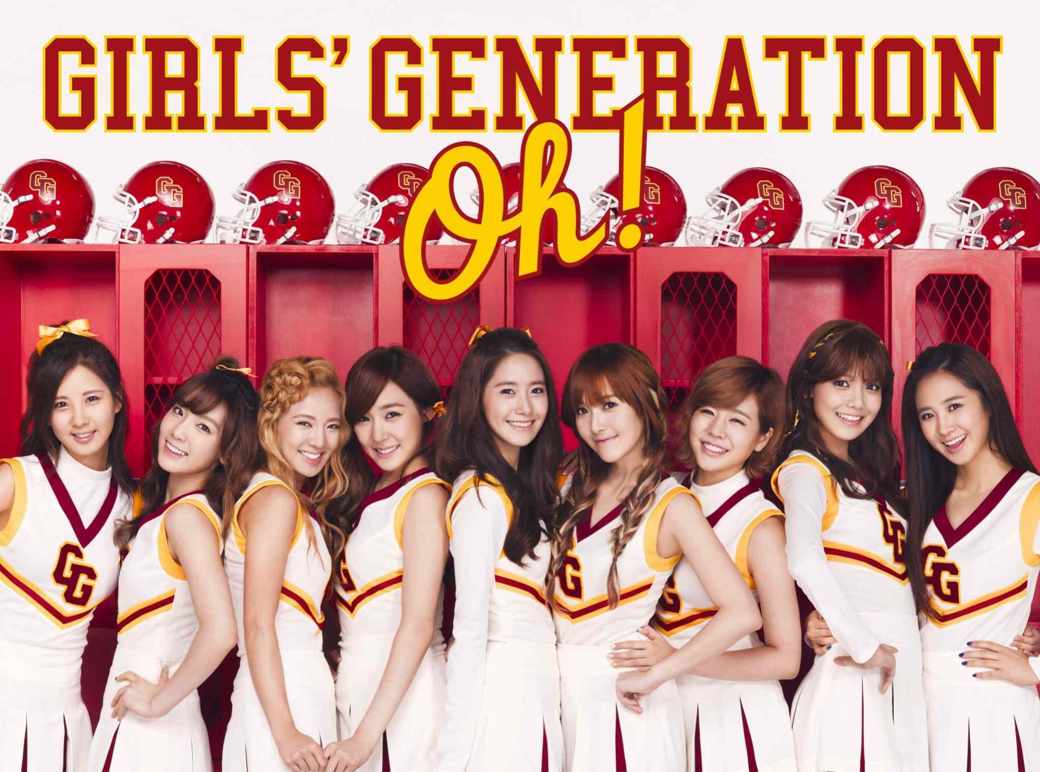 【2010】有了《Gee》加持,少女時代在2009年徹底大爆發!在這一年只有少女時代可以打敗少女時代,先後以《oh》(5週)