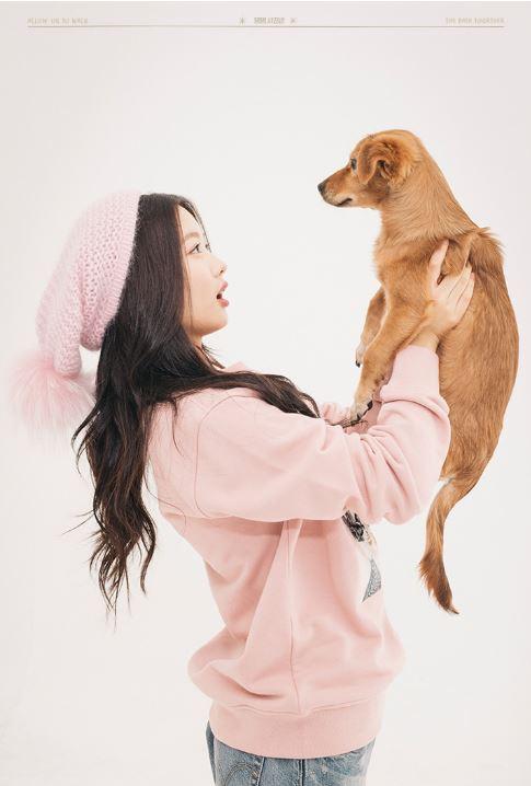 而且女主角還是在韓國有高人氣的國民妹妹金裕貞~ 先前和 Piki 一同合作製作節目,為保護流浪犬發聲的裕貞,真的是人美心也美啊 : )