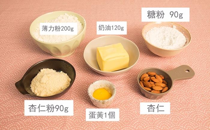 準備材料非常簡單↑............  *薄力粉舊式低筋麵粉喔
