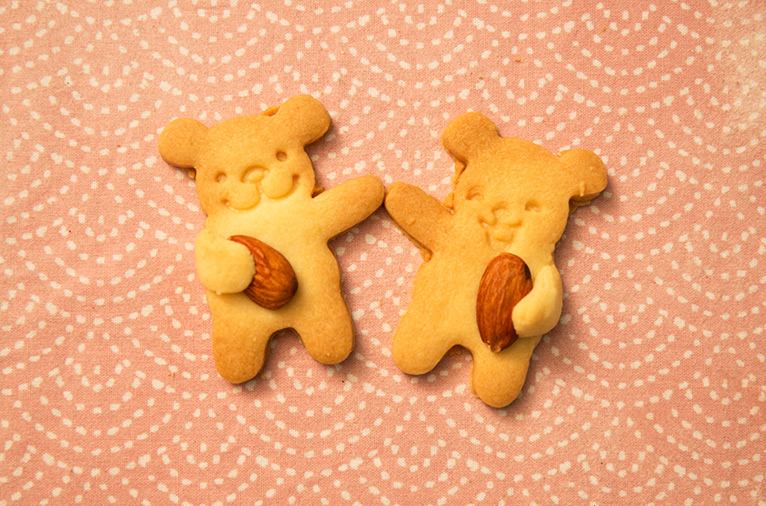 這就是今天小編教大家做的小熊餅乾啦~ 好看又好吃....鄉民都學會了嗎?!!!!!!