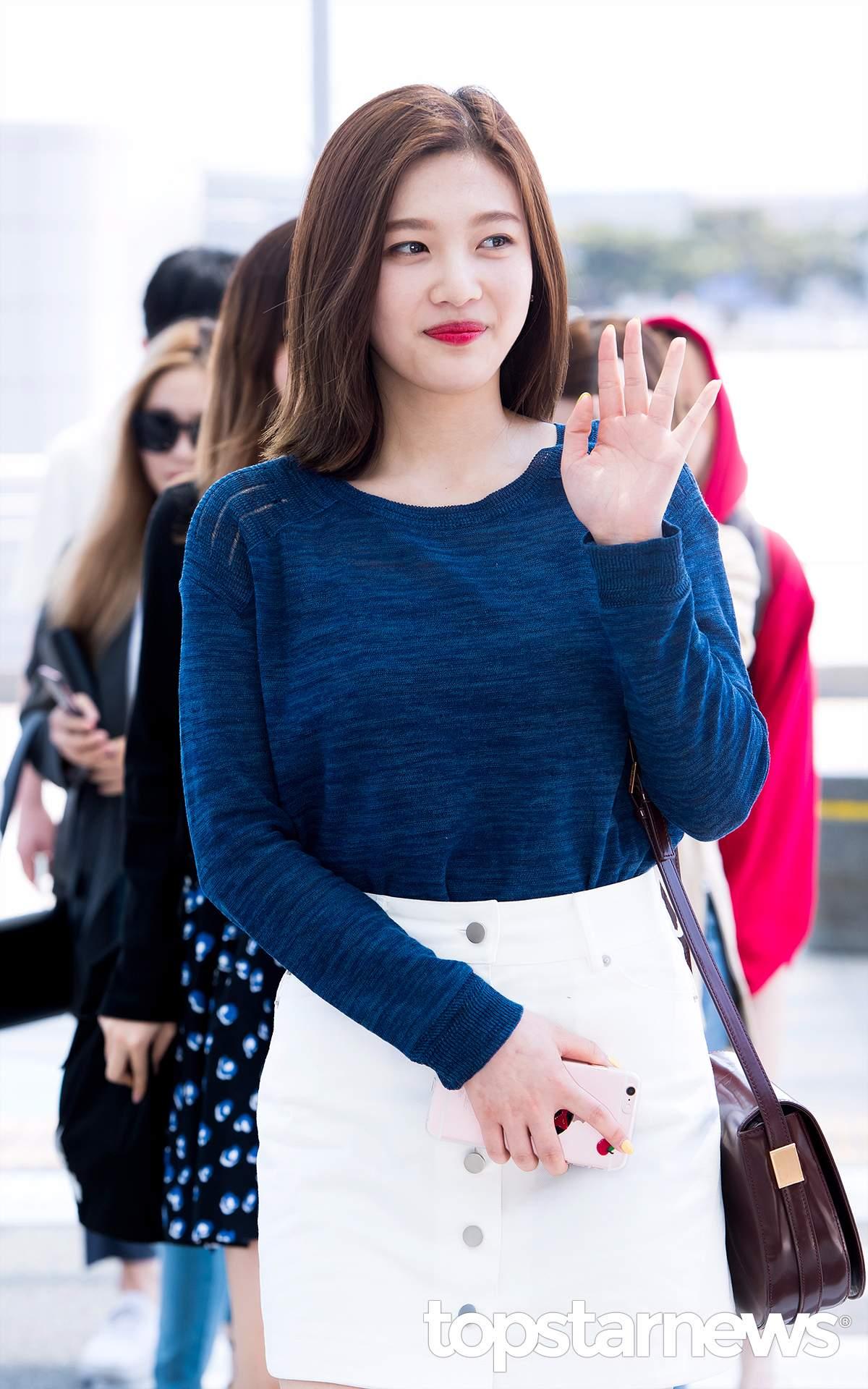 Red Velvet - Joy 出道至今身材一直是話題,不過最近瘦身成功終於讓壞心網友閉嘴了!