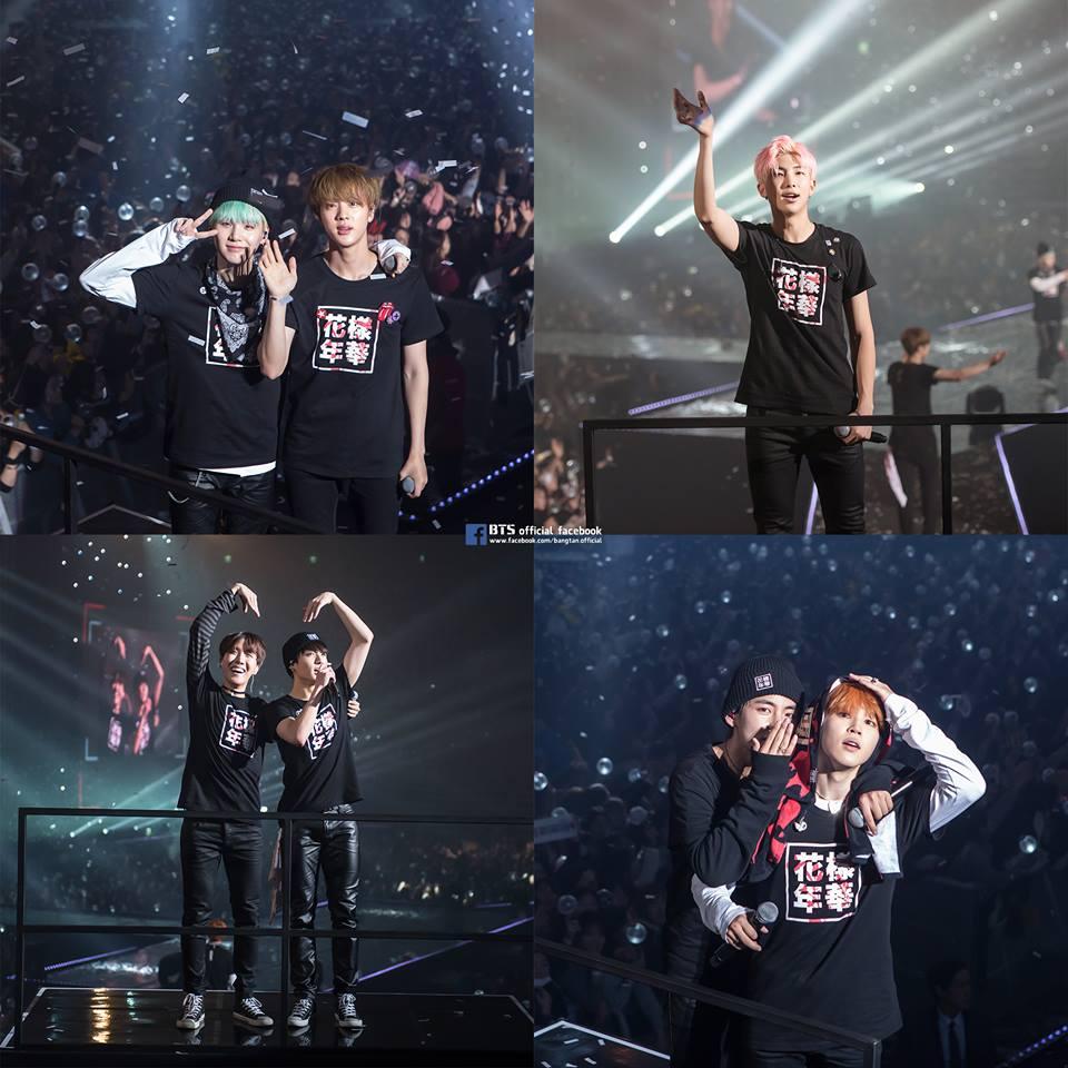 儘管在演唱會上,可以親眼看到防彈少年團的表演,以及他們可愛搞笑的模樣…