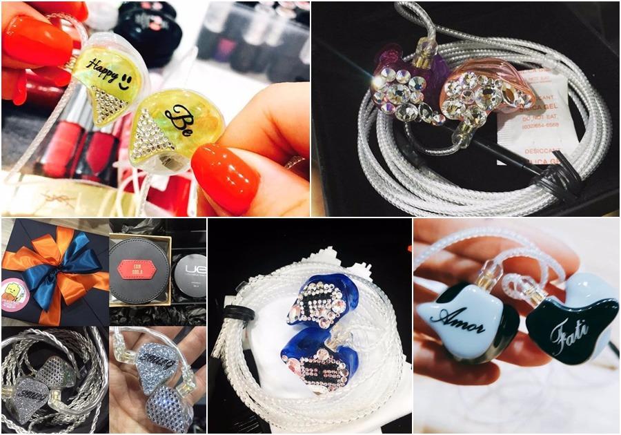 粉絲也特別製作成員的專屬耳機作為禮物!成員們紛紛在自己的SNS上謝謝LEGGO的支持!(超級感人ㅠㅠ)
