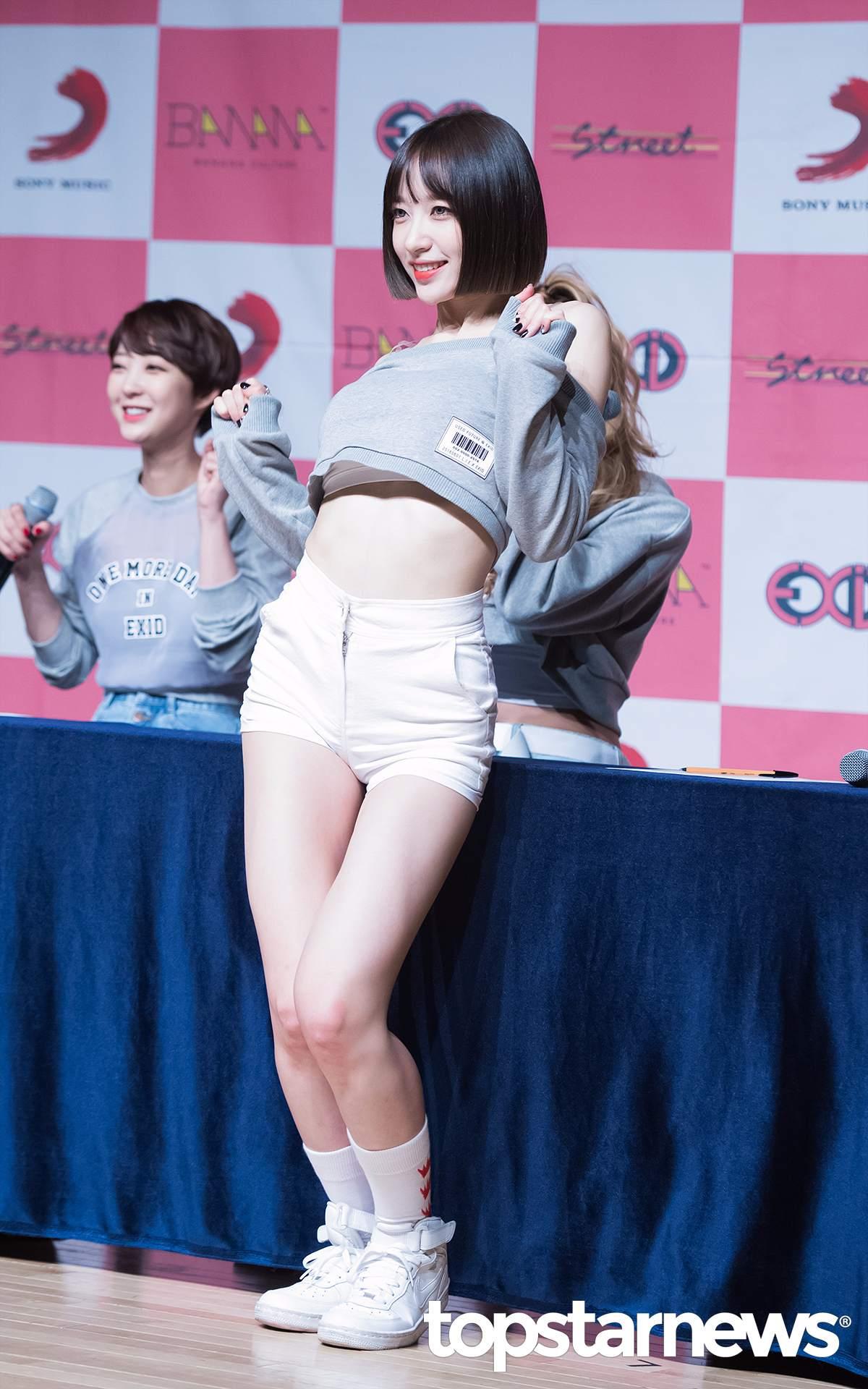 從上次的〈Hot Pink〉一直到最近回歸,Hani的身材越來越纖細,在粉絲拍的影片中甚至驚見肋骨!!瘦到讓粉絲都心疼啊…