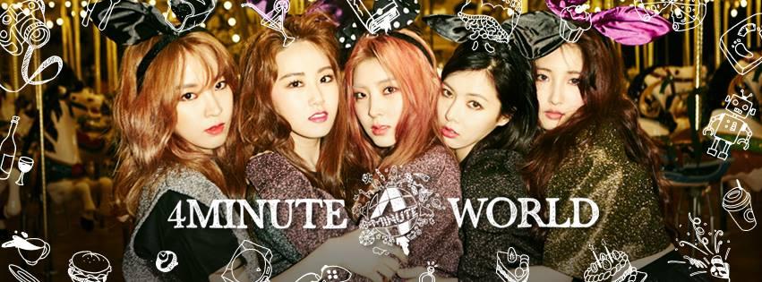 但隨著昨日Cube 發表的聲明,確定在長時間的商討之下4Minute 5名成員僅泫雅續約,團體將會解散之後,成軍7年的4Minute 確定只能留在大家記憶中了。