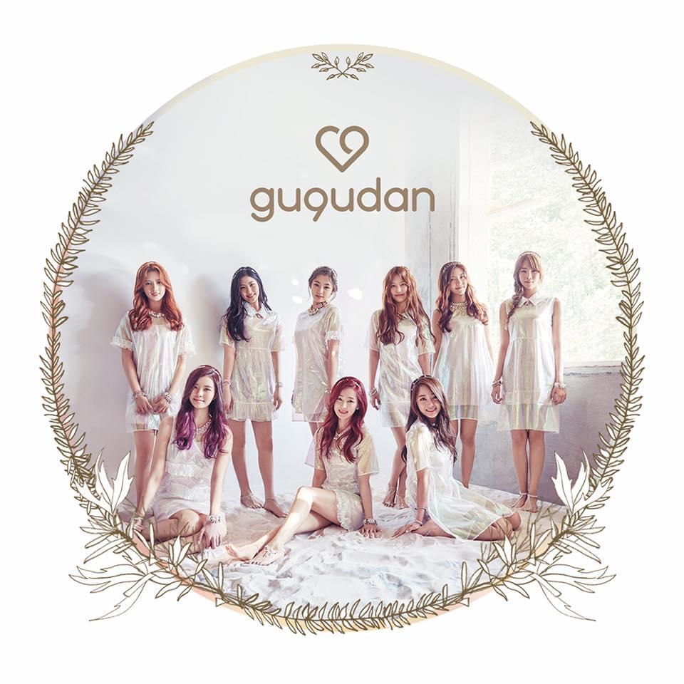 17日,Jellyfish 公開了新女團的團名「gugudan」(구구단 ),意為有9種魅力的9位少女。(韓文中9的發音就是gu)
