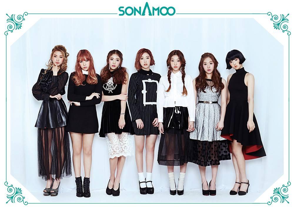 也是2014年出道的SONAMOO,在韓文就是松樹的意思,雖然是希望像松樹這麼堅忍不拔啦!但是被叫松樹感覺好不少女喔XD 明明就是一群平均才20歲的青春女孩兒~