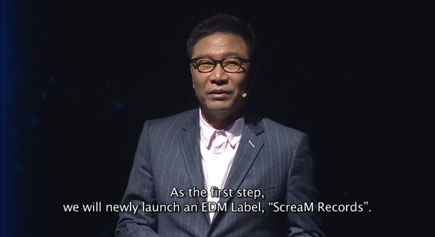 今年初SM代表李秀滿在「SMTOWN: New Culture Technology, 2016」發表會上,表示將推出一個EDM品牌「ScreaM Records」,和世界知名EDM品牌合作外,還會成為亞洲的DJ與製作人的經紀公司。