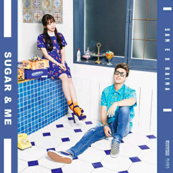 ★ No.9 :: San E & Raina  'Sugar And Me' ★  本週第九名也是一首新進榜的歌曲, San E 再度和 Raina 合作推出甜蜜對唱歌曲。